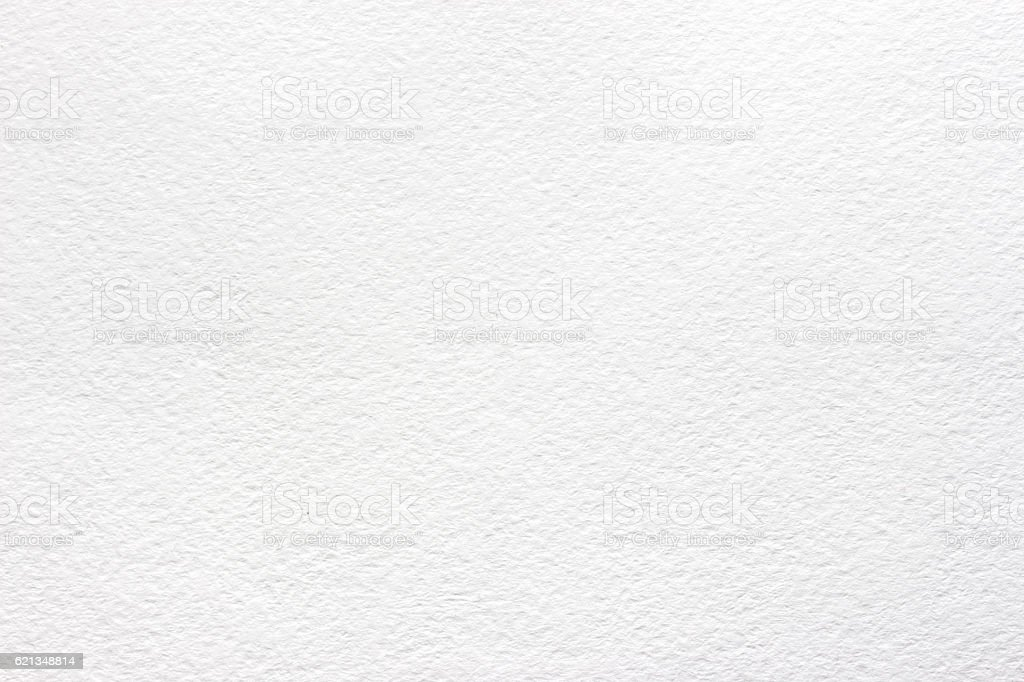 White texture watercolor paper stock photo