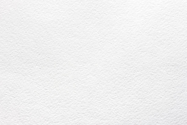 White texture watercolor paper - foto stock