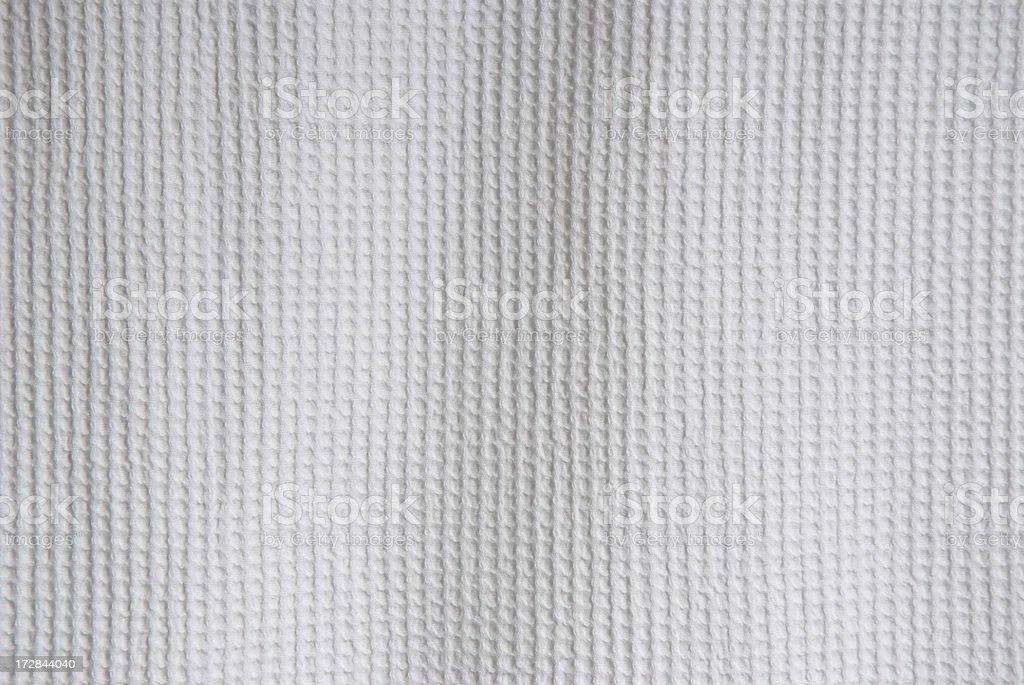 White Textured Cotton Background Full Frame stock photo