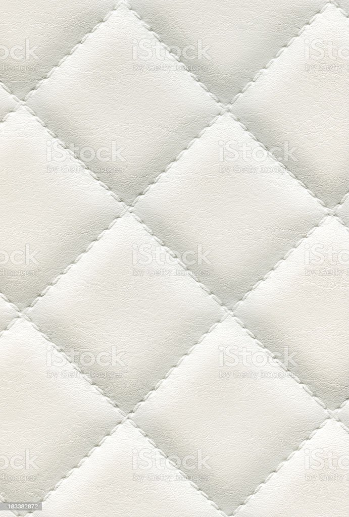 White textured leather background royalty-free stock photo