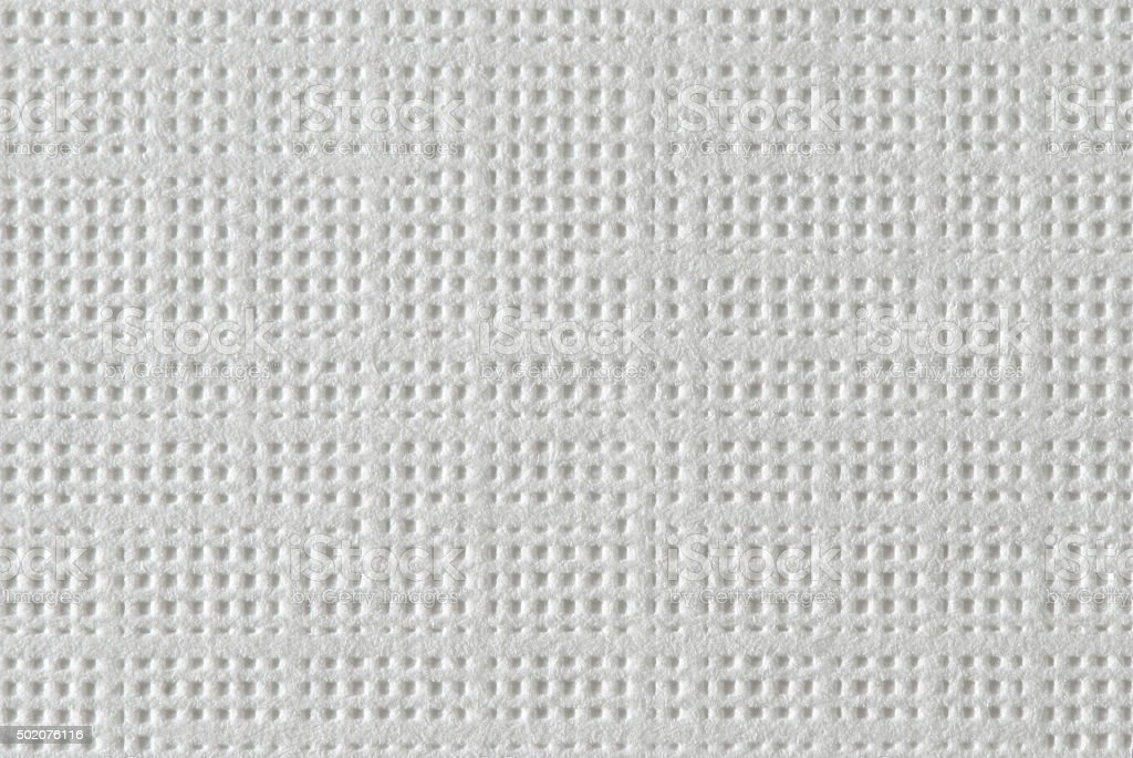 White Textured Paper Macro stock photo
