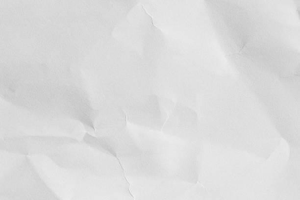 white textured paper. - 弄皺的 個照片及圖片檔