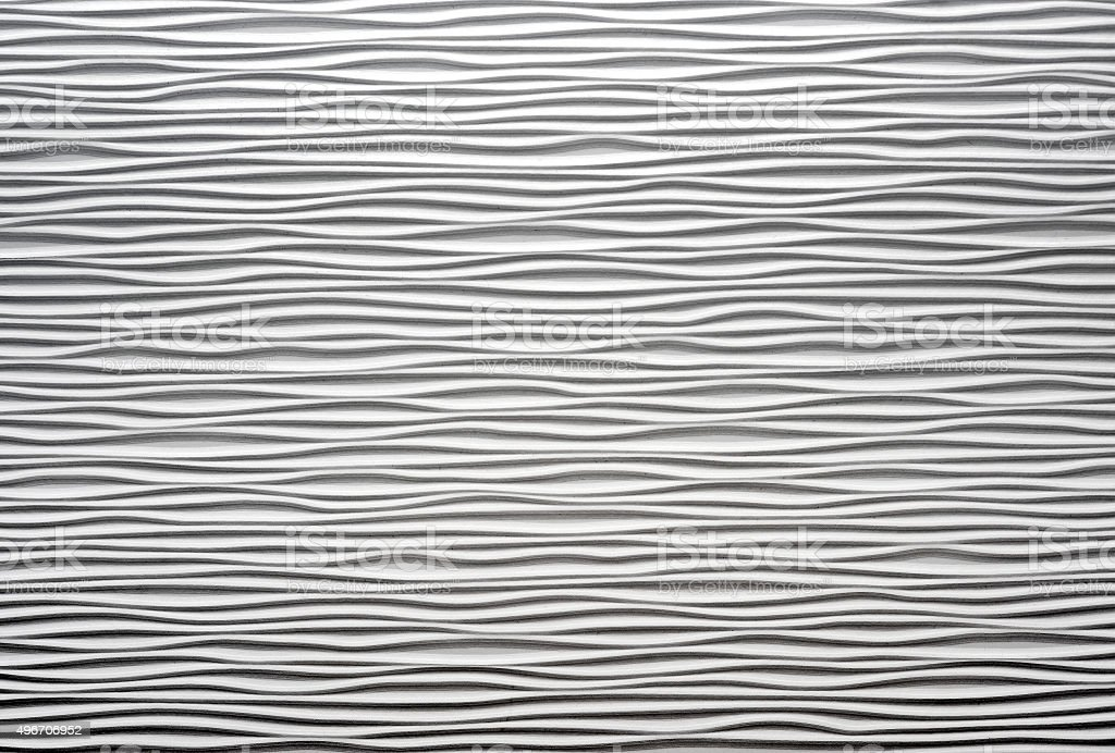 White textured waved wall stock photo