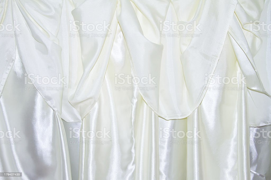 White thai design of native cloth royalty-free stock photo