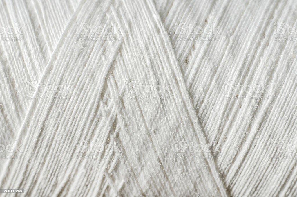 white thread stock photo