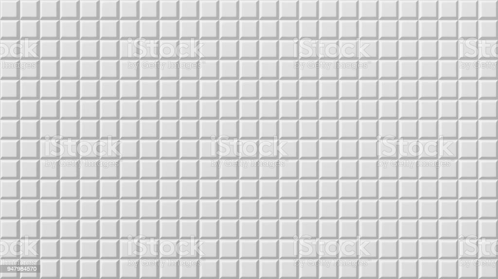 White Tile Flooring Seamless Texture Background 3d Illustration Royalty Free Stock Photo