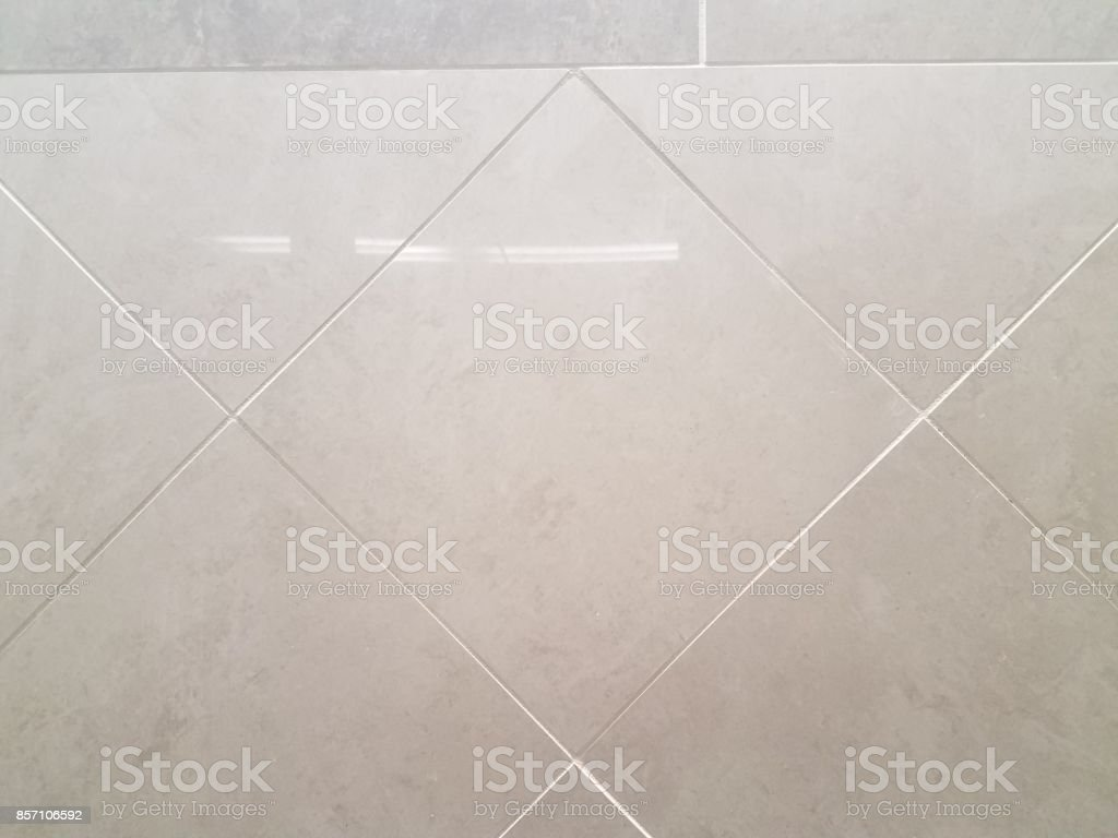 white tile wall in the bathroom stock photo