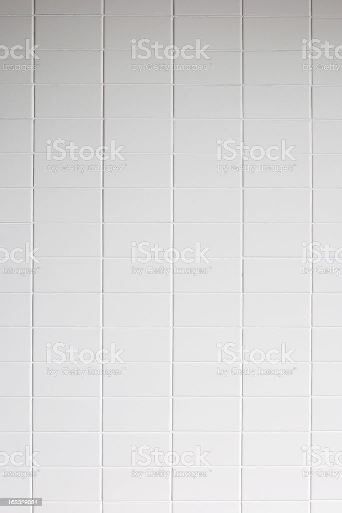 White tile wall texture background stock photo