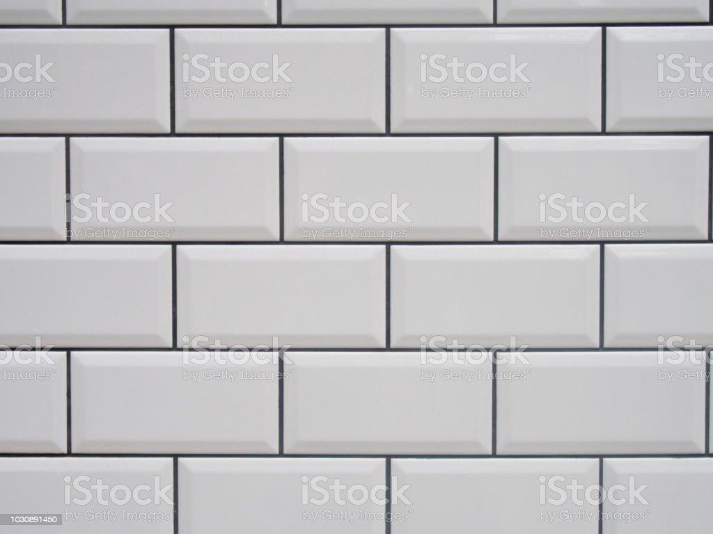 Carrelage Blanc Joint Noir photo libre de droit de blanc carreaux avec texture noir