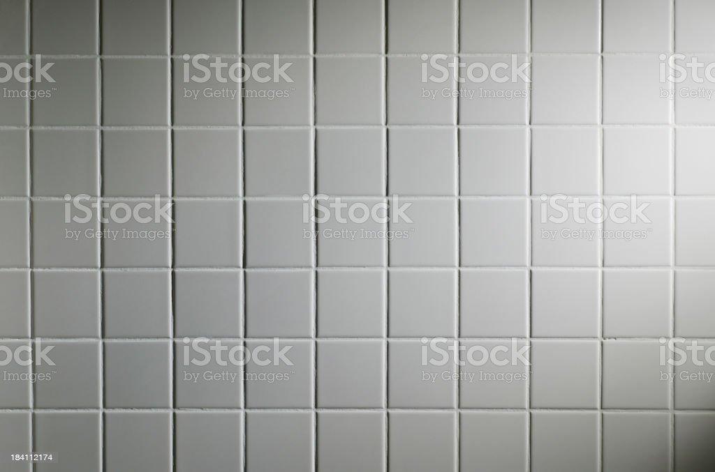White Tiled Wall royalty-free stock photo