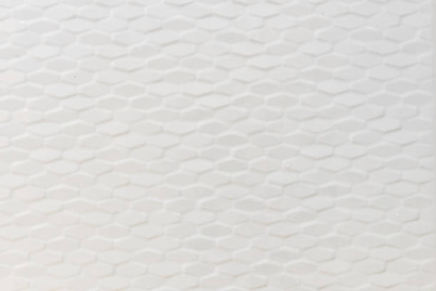 White tiles background pattern stock photo