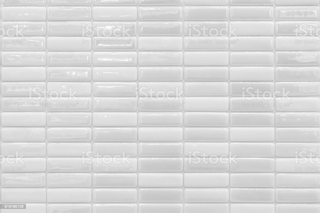 White tiles backgrounds stock photo