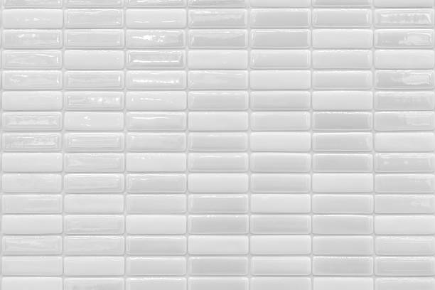 white tiles backgrounds - tile stock photos and pictures