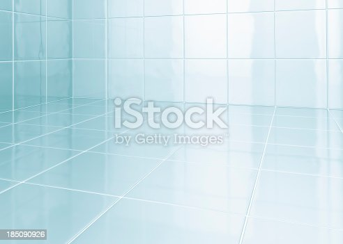 istock White tiles in bathroom 185090926