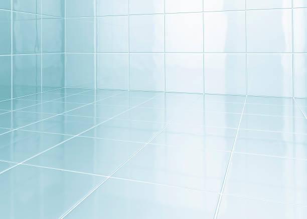 백색 타일 욕실 - 욕실 뉴스 사진 이미지