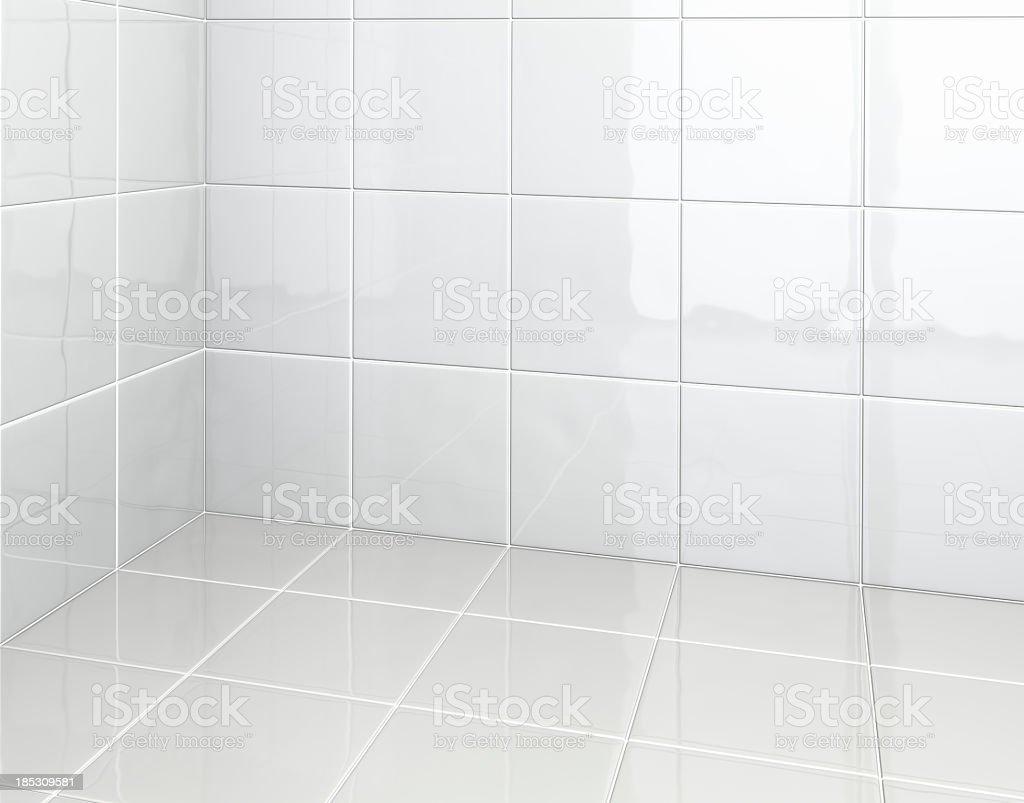 Weiße Fliesen Im Badezimmer Stockfoto und mehr Bilder von ...