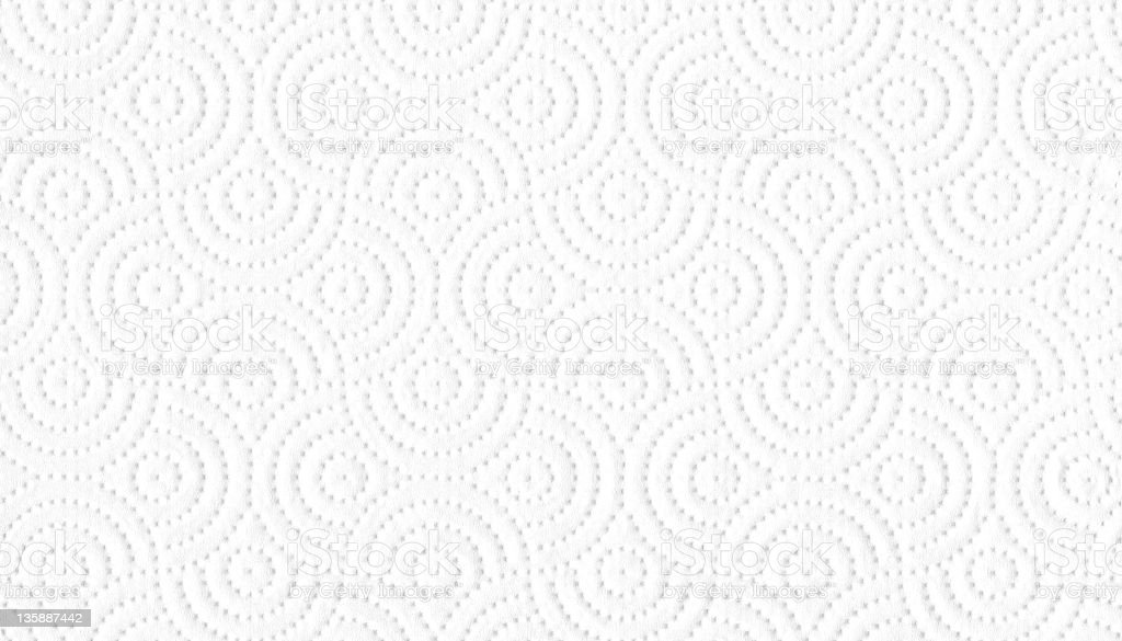 White tissue paper background with geometric design stock photo