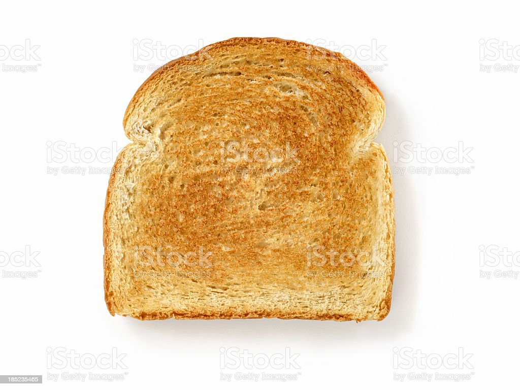 White Toast stock photo