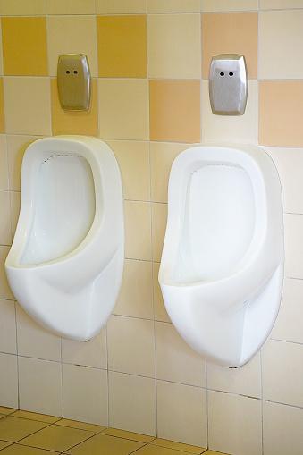 istock White toilet in the bathroom 1069312226