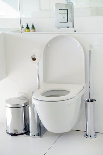 istock White toilet in the bathroom 1093971560