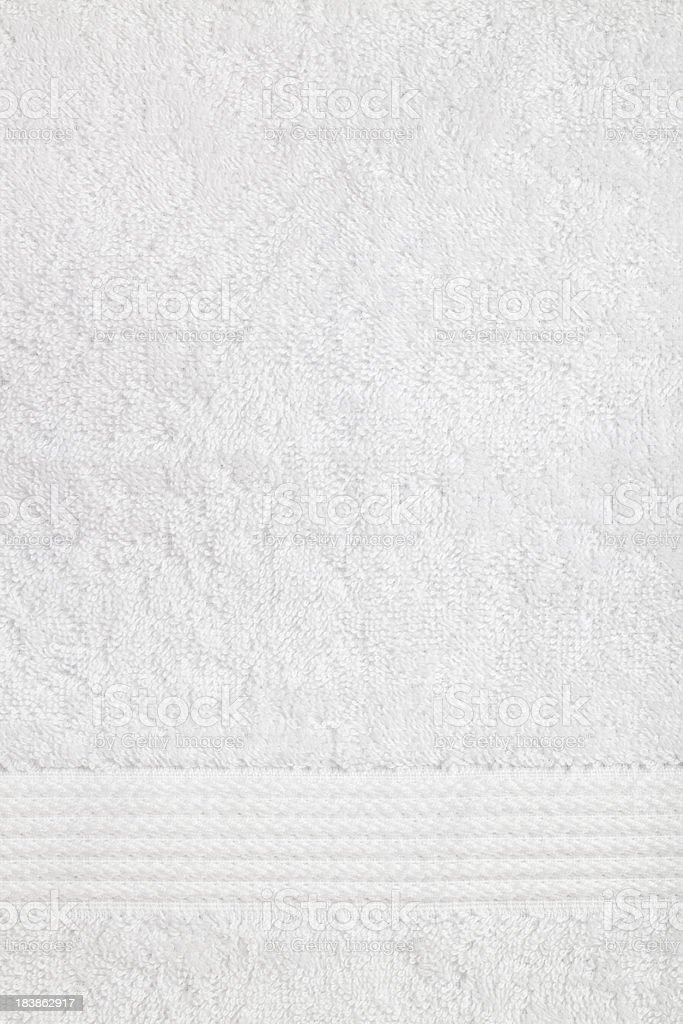 White towel background stock photo