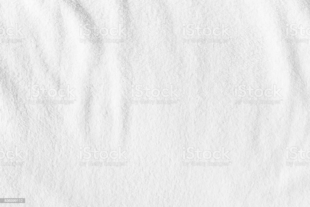 white towel background - foto stock