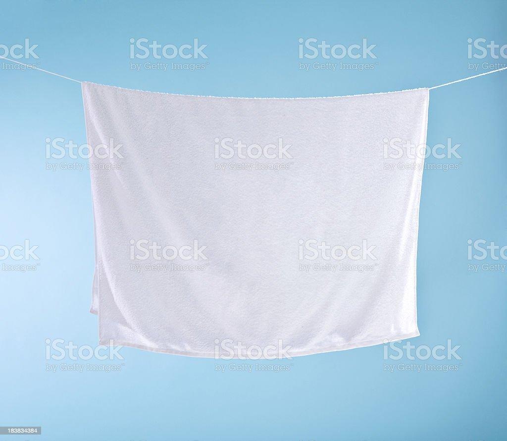 White towel royalty-free stock photo