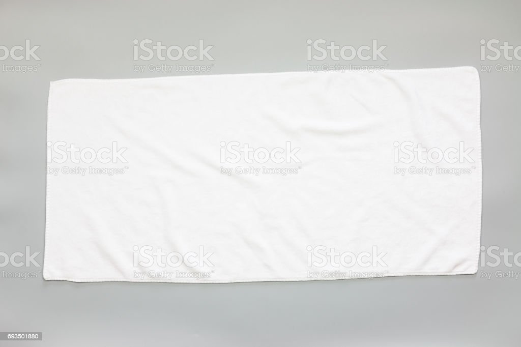 White towel - foto stock