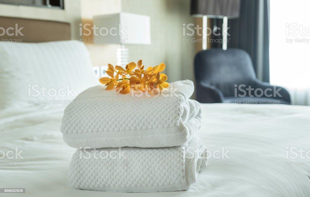 weißes Handtuch – Foto