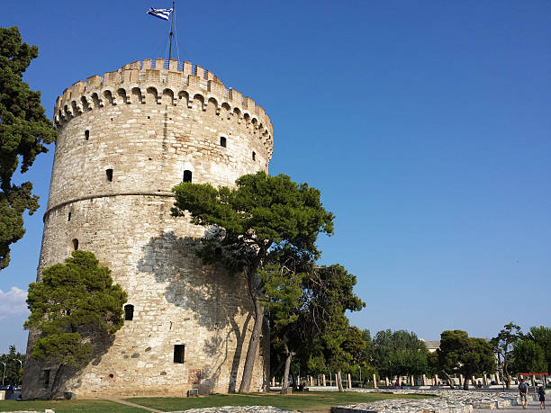 White tower in Salonika-Griechenland – Foto