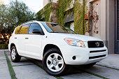 istock White Toyota Rav 4 472080857