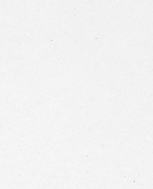 White traditional uneven paper texture on white background stock photo