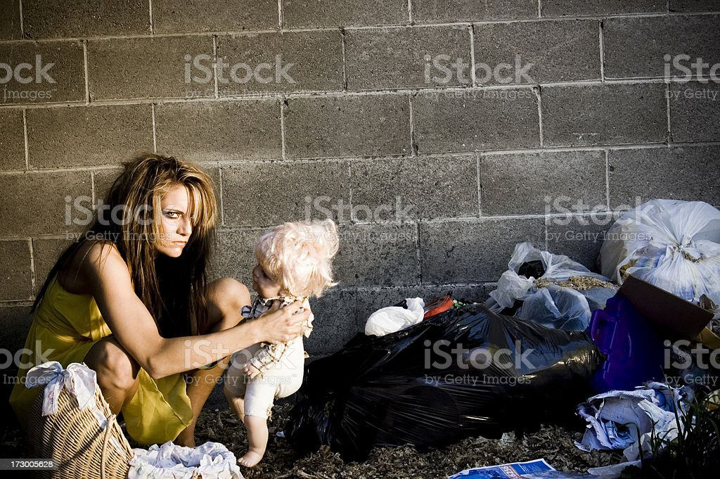 white trash royalty-free stock photo