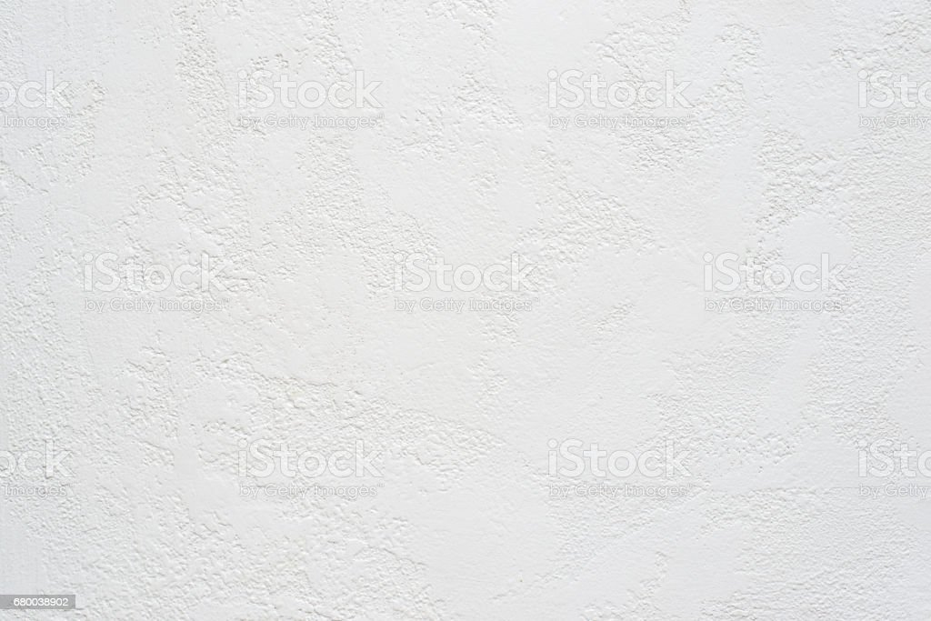 white travertine plaster textured background, copy space stock photo