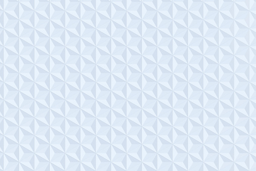 927104724 istock photo White triangle tiles seamless pattern, 3d rendering background. 927091236