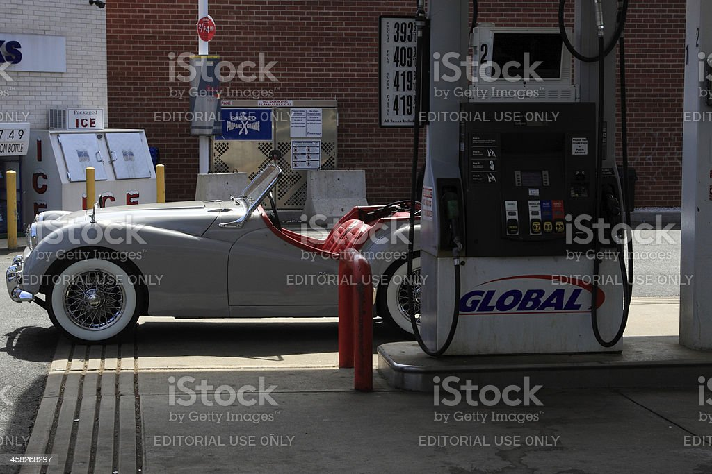 white triumph royalty-free stock photo