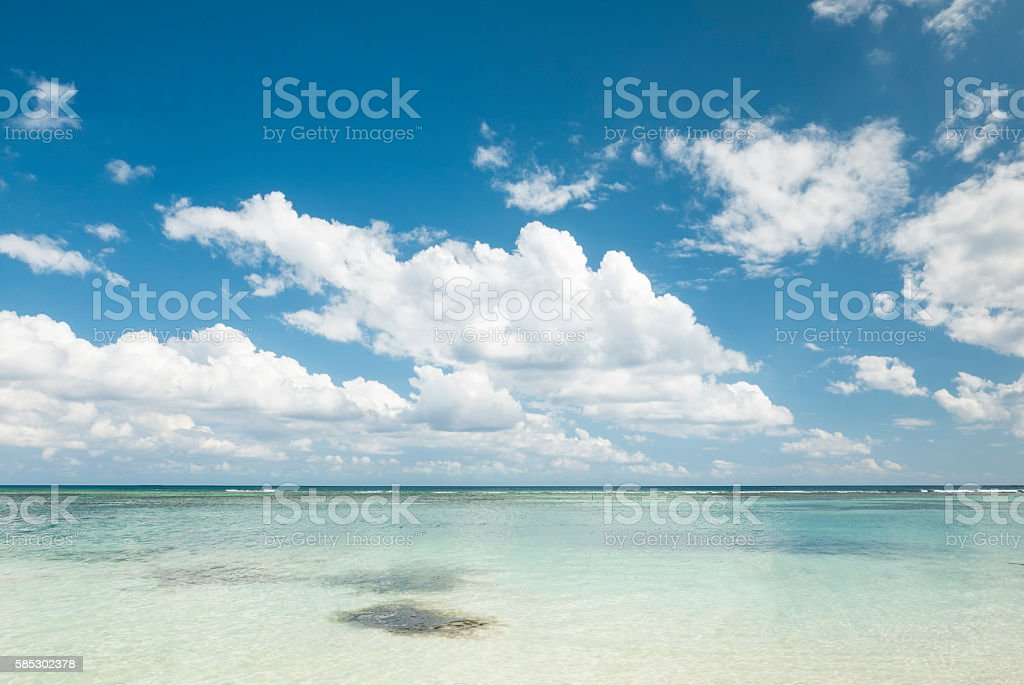 White Tropical Beach In The Caribbean Sea Stockfoto Und Mehr Bilder