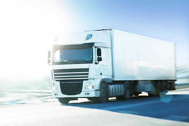 Royalty Free White Truck Pictures, Images and Stock Photos - iStock