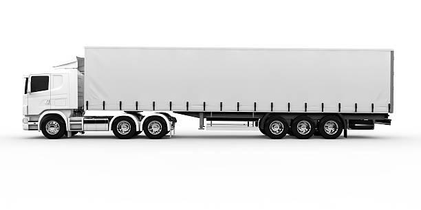 Camion blanc - Photo