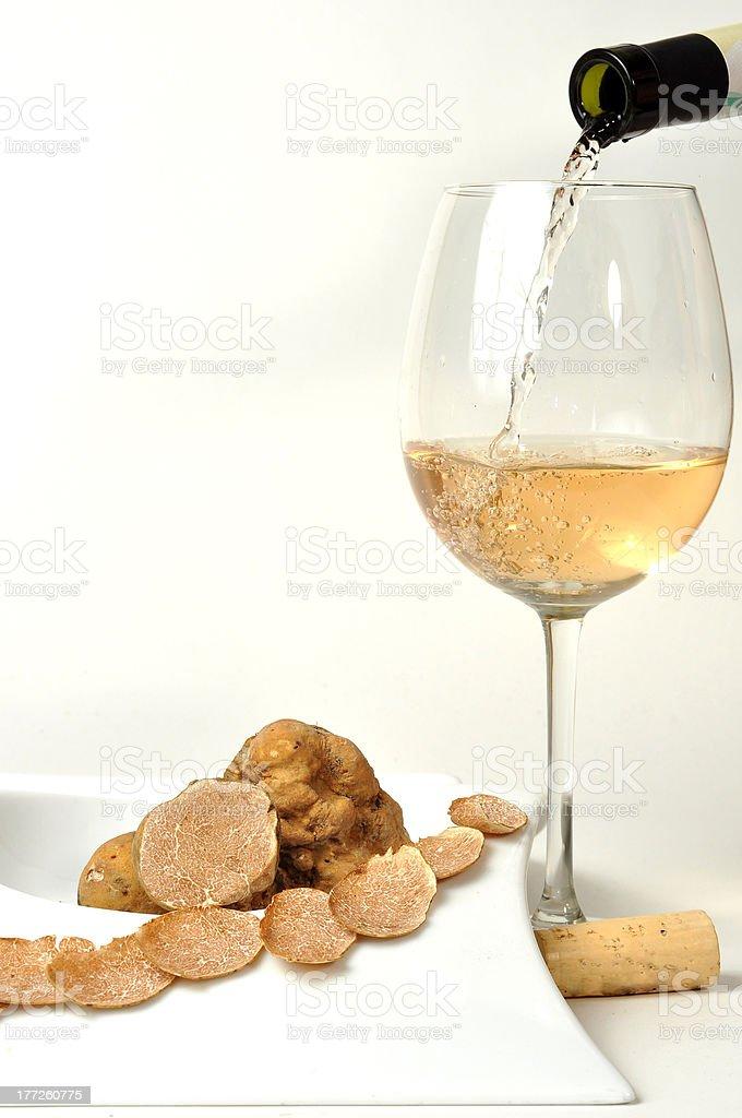 White truffle stok fotoğrafı