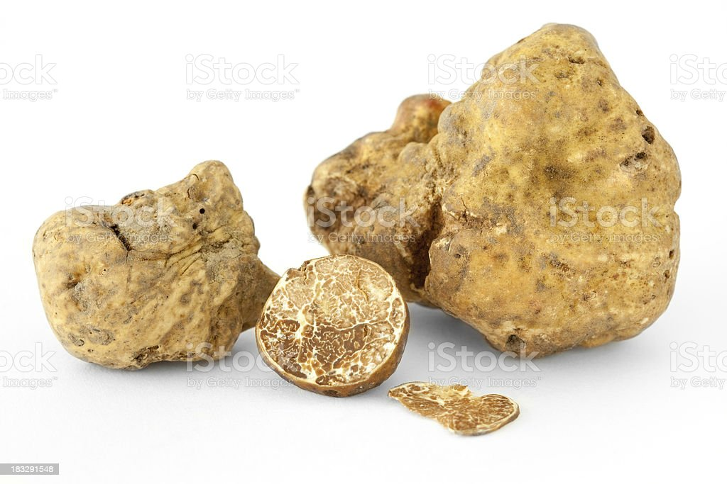 White truffles royalty-free stock photo