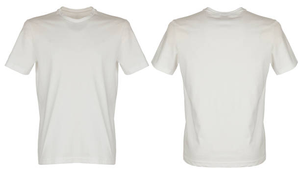 Weißes t-shirt – Foto