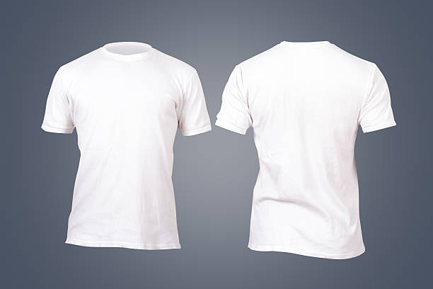 white tshirt template - t shirt stock photos and pictures