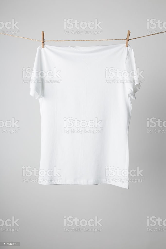 White T-Shirts Mock-up - foto de stock