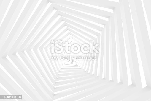 3d rendering colorful pastel background geometric shape abstract still life scene, tunnel, corridor.