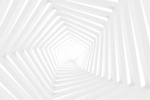 istock White Tunnel, Corridor 1049411218