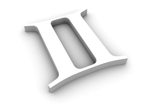 White twin zodiac sign