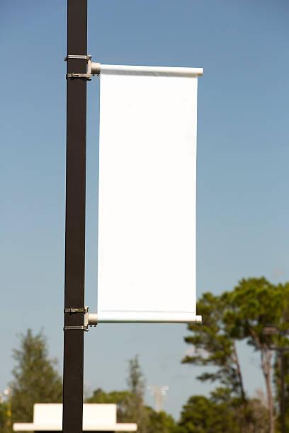 White vertical banner against a blue sky picture id175201989?b=1&k=6&m=175201989&s=612x612&w=0&h=bitded1ptfrjy7fks3vxhpqqthkgdlabj3lnbz n1ua=