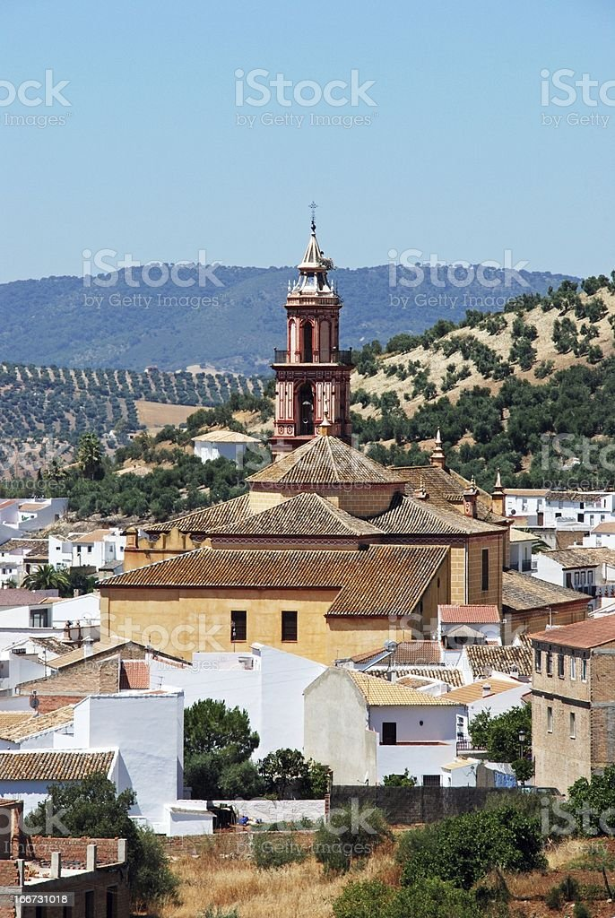 White village, Algodonales, Andalusia. royalty-free stock photo