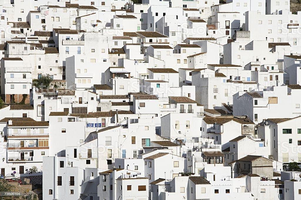 White villas royalty-free stock photo